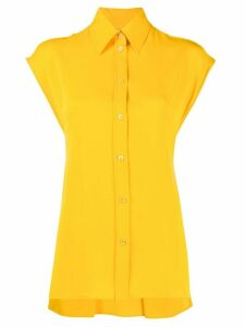 Nina Ricci back tie shirt - Yellow