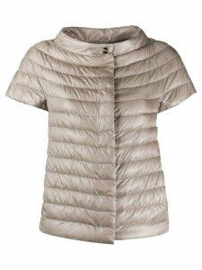Herno Margherita puffer jacket - NEUTRALS