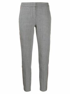 Tommy Hilfiger check pattern trousers - Grey