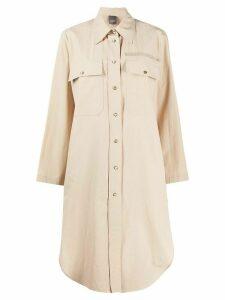 Lorena Antoniazzi oversized shirt dress - NEUTRALS