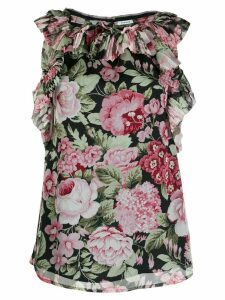 P.A.R.O.S.H. floral print blouse - Black