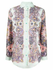 Etro paisley print blouse - Green