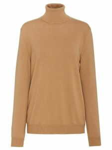 Prada cashmere roll-neck jumper - NEUTRALS