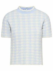 Miu Miu bouclé wool jumper - Blue