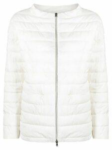 Herno padded hooded jacket - White