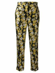 Dolce & Gabbana tailored jacquard trousers - Black