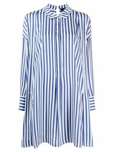 Steffen Schraut long striped shirt - Blue