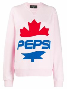 Dsquared2 x Pepsi #D2XPEPSI sweatshirt - PINK