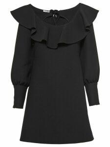 Miu Miu Tricotine mini dress - Black