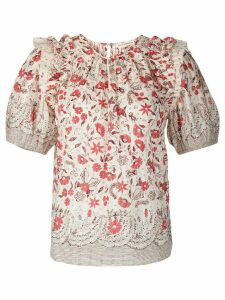 Ulla Johnson Arbor blouse - PINK