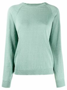 Peserico long sleeve ribbed-knit sweater - Green