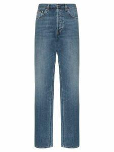 Totême Ease high-waisted straight-leg jeans - Blue