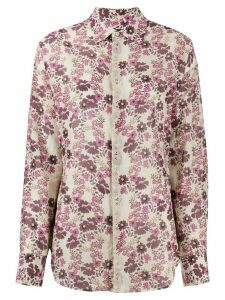 Dsquared2 floral-print shirt - PURPLE