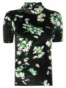 Richard Quinn daisy print T-shirt - Black
