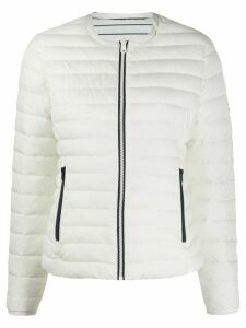 Ecoalf reversible puffer jacket - White