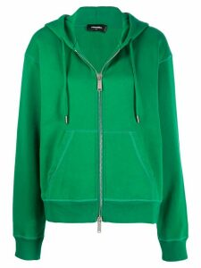 Dsquared2 Icon logo hoodie - Green