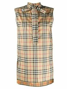 Burberry Vintage Check blouse - NEUTRALS