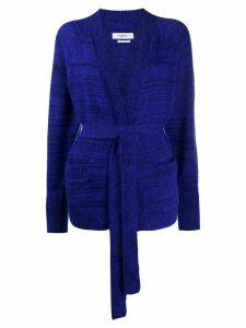 Isabel Marant Étoile Gabston belted cardigan - Blue
