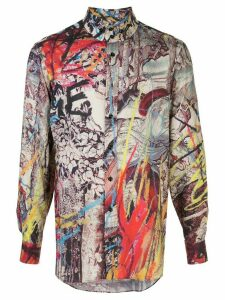 Vivienne Westwood 2 Button Krall graphic-print shirt - Multicolour