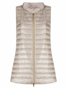 Herno quilted gilet - NEUTRALS