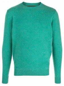 The Elder Statesman Simple crew neck jumper - Green
