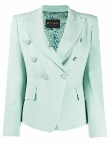 Etro fitted double-breasted blazer - Blue