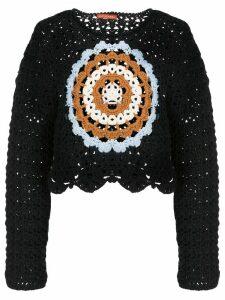 Altuzarra Edmunton crochet jumper - Blue