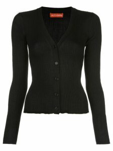 Altuzarra Harwell ribbed knit cardigan - Black