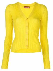 Altuzarra Harwell knitted cardigan - Yellow