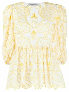 Vivetta lace blouse - White