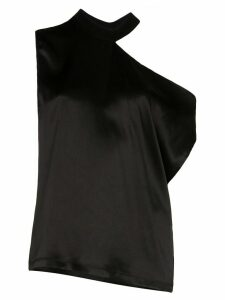 RtA Axel one-shoulder blouse - Black