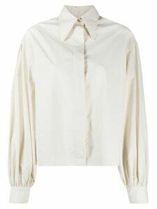 Deveaux poplin shirt - NEUTRALS