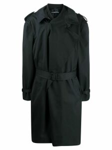 Y/Project oversized trench coat - Blue