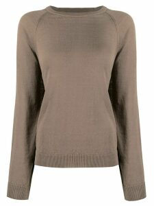 Peserico fine knit slouchy jumper - Brown