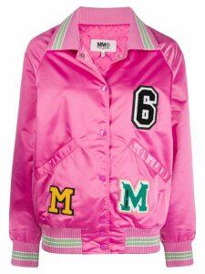 Mm6 Maison Margiela vibrant bomber jacket - PINK