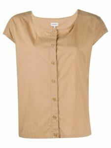 Woolrich front buttoned T-shirt - NEUTRALS