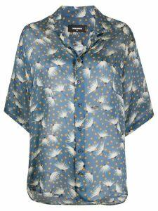 Dsquared2 floral print blouse - Blue
