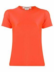 Junya Watanabe Jet stretch fit T-shirt - ORANGE