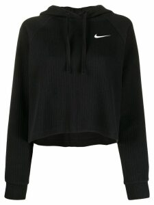 Nike ribbed cotton hoodie - Black
