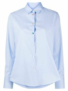 PS Paul Smith rainbow button shirt - Blue