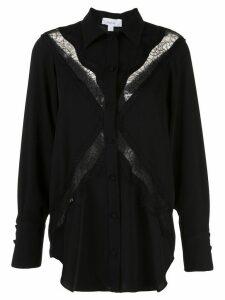 Beaufille lace detail shirt - Black