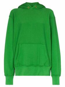 Les Tien cotton hoodie - Green