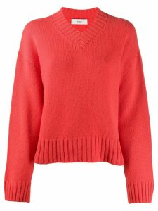 Pringle of Scotland cashmere long-sleeve jumper - Red