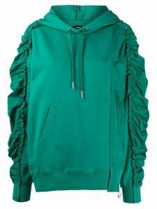 Diesel ruched hoodie - Green