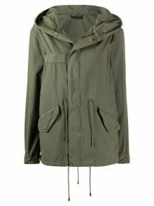 Mr & Mrs Italy drawstring hooded parka coat - Green