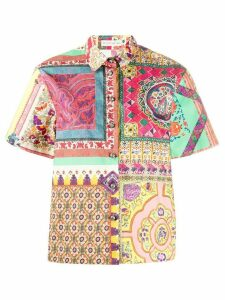 Etro graphic print shirt - Multicolour
