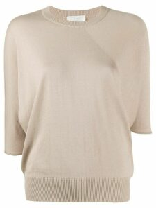 Zanone dolman knit top - NEUTRALS