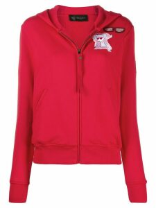 Mr & Mrs Italy patch hoodie - Red