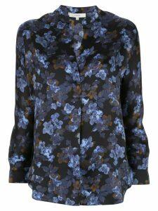 Vince floral print silk blouse - Blue