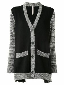Antonio Marras contrast-trimmed cardigan - Black